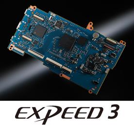 Процессор EXPEED 3 для обработки изображений
